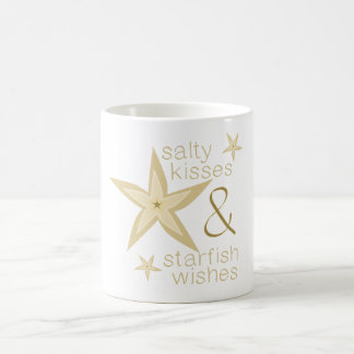 Salty Kisses Starfish Wishes Coffee Mug