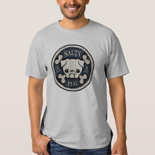 Salty Pug T Shirts