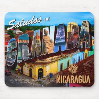 Saludos de Granada Nicaragua Mouse Pad