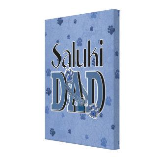 Saluki DAD Canvas Prints