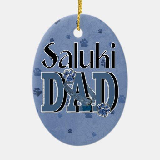 Saluki DAD Ornament