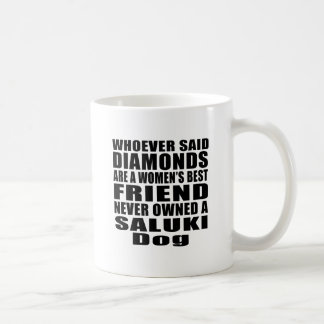 SALUKI DOG BEST FRIEND DESIGNS COFFEE MUG