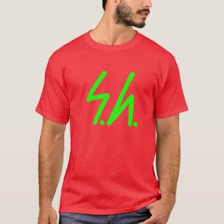 Saluki grey logo green T-Shirt