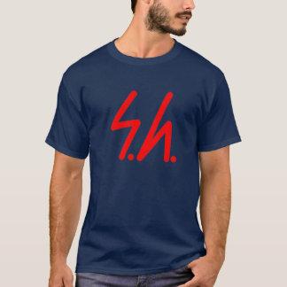 Saluki grey logo red T-Shirt