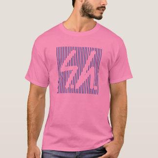 Saluki grey logo reverse blue T-Shirt