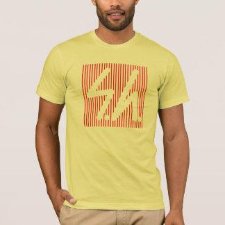 Saluki grey logo reverse red T-Shirt