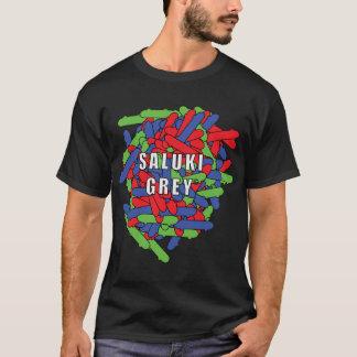 Saluki grey skatebaords overlapping. T-Shirt