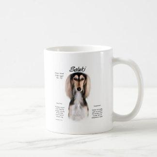 Saluki History Design Coffee Mug