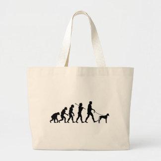Saluki Large Tote Bag