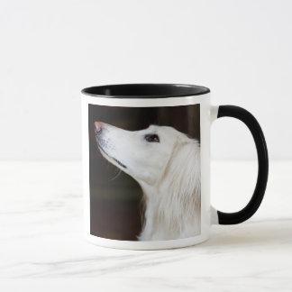 Saluki Looking Up Mug