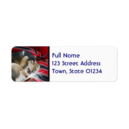 Saluki  Mailing Labels
