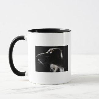 Saluki, portrait mug