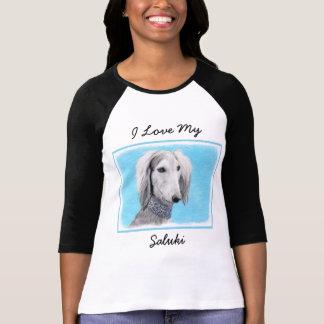 Saluki (Silver) T-Shirt