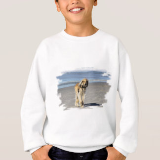 Saluki Stroll on the Beach Sweatshirt