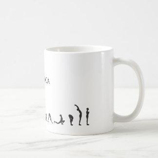 salutation iloveyoga coffee mug