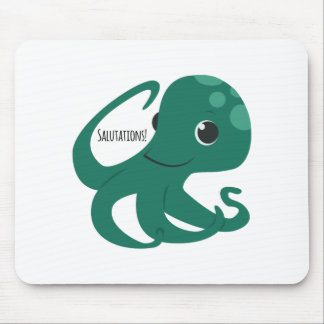Salutations Mouse Pad