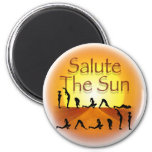 Salute the Sun Magnets