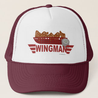 Salute the Wingman logo Trucker Hat