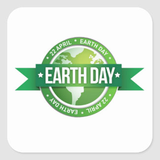 Salute To Earth Earth Day Stickers