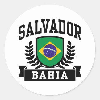 Salvador Bahia Classic Round Sticker