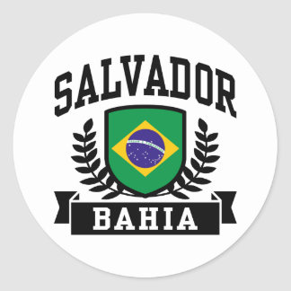 Salvador Bahia Round Sticker