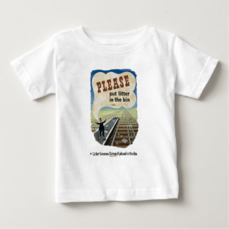 Salvage_Please_put_litter_in_the_bin.18x12.jpg Tshirt