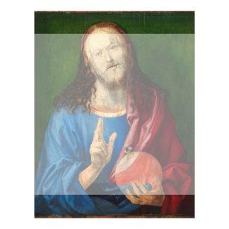 Salvator Mundi by Albrecht Durer Full Color Flyer