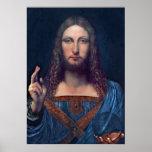 Salvator Mundi by Leonardo da Vinci Poster