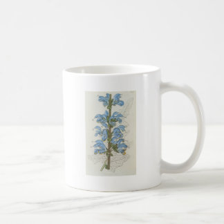 Salvia Barrelieri Basic White Mug