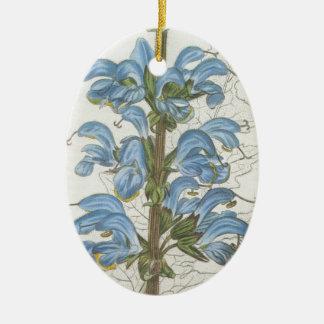 Salvia Barrelieri Ceramic Oval Decoration