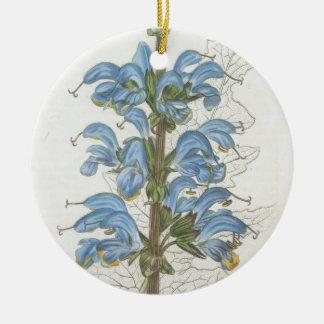 Salvia Barrelieri Round Ceramic Decoration