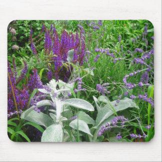 Salvia, Lambs ear and Lavendar Mouse Pad