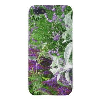 Salvia, Lavendar & Lamb's Ear Garden Case For iPhone 5/5S