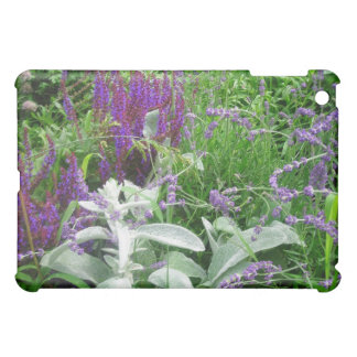 Salvia, Lavendar & Lamb's Ear Garden iPad Mini Case