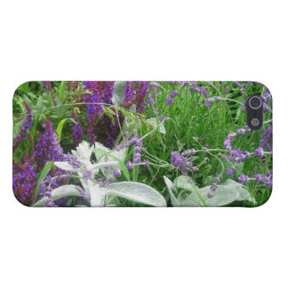 Salvia, Lavendar & Lamb's Ear Garden iPhone 5 Case