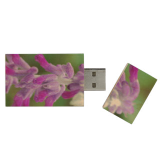 Salvia Wood USB 2.0 Flash Drive