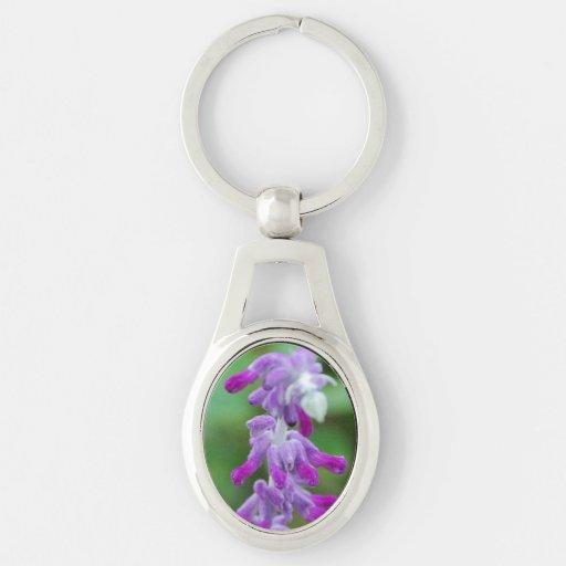 Salvia Keychain