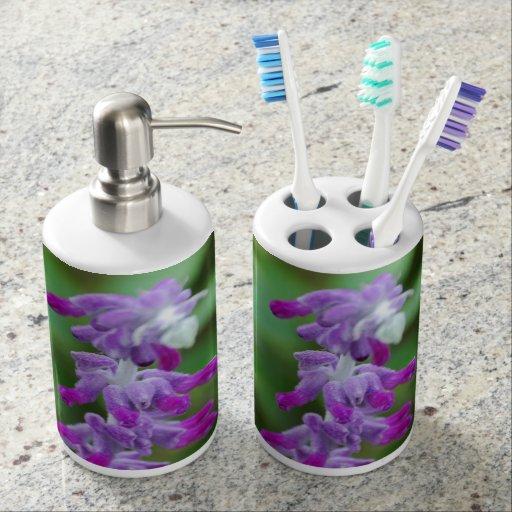 Salvia Toothbrush Holders