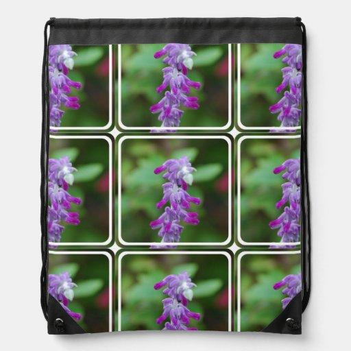Salvia Drawstring Backpack