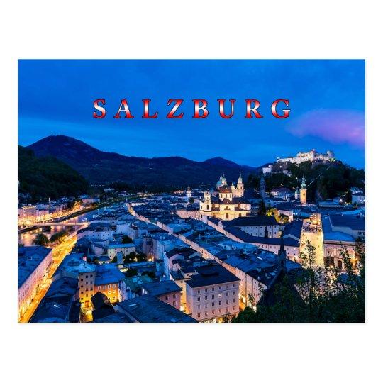 Salzburg 001D Postcard