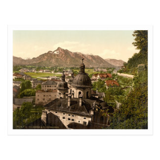 Salzburg and Untersberg, Austria Postcard