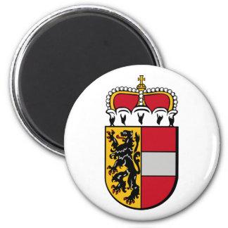 Salzburg, Austria 6 Cm Round Magnet