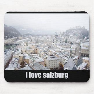 Salzburg (Austria) Photo, I love Salzburg Mouse Mat