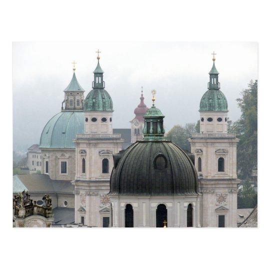 Salzburg, Austria. Postcard
