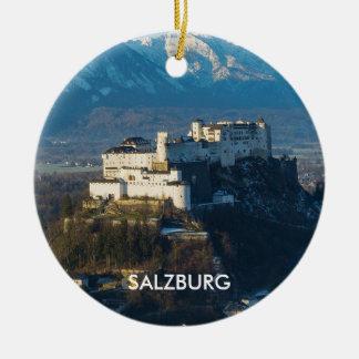 Salzburg Austria Scenic Circle Ornament
