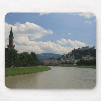 Salzburg Castle Mouse Pad