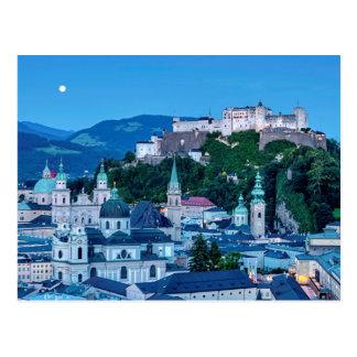 Salzburg city, Austria Postcard