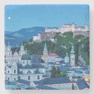 Salzburg city, Austria Stone Coaster