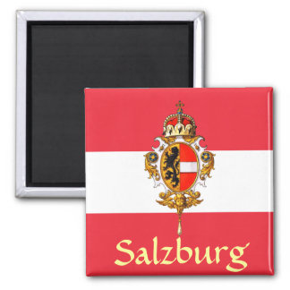 Salzburg Coat of Arms Magnet