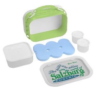Salzburg custom monogram lunch boxes
